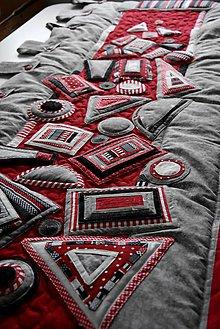 Úžitkový textil - Zástena - geometria - 8783792_