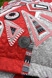 Úžitkový textil - Vankúš - geometria - 8783932_