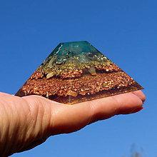 Dekorácie - Mayská pyramida (3) orgonit * Komunikace - 8790410_