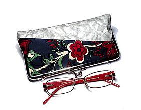 Taštičky - na okuliare /perá/ kozmetiku - 8788115_