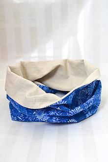 Šatky - Nákrčník... 100%ľan & 100% luxusná bavlna (verzie dospelá a detská) (dospelý) - 8792510_