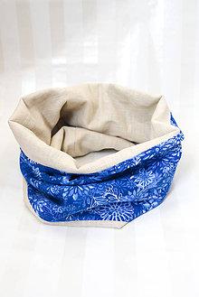 Šatky - Nákrčník... 100%ľan & 100% luxusná bavlna (verzie dospelá a detská) (detský) - 8792515_