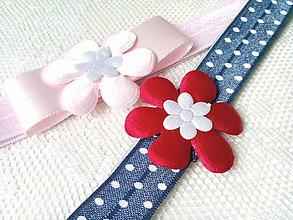 Ozdoby do vlasov - Baby girl elastic headbands - 8793555_