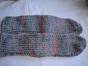 Obuv - farmárske ponožky -  pletené - 8790077_