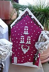 Dekorácie - Vianočné domčeky - 8790280_