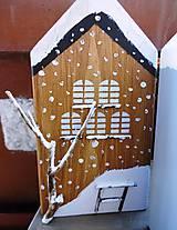 Dekorácie - Vianočné domčeky - 8790281_