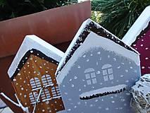 Dekorácie - Vianočné domčeky - 8790282_