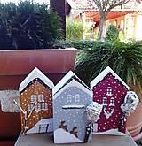Dekorácie - Vianočné domčeky - 8790283_