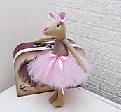 Hračky - Myšička baletka - 8792739_