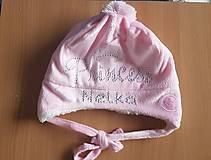 Detské čiapky - Zimná čiapka Princess - 8793858_
