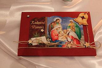 """Papiernictvo - Vianočná pohľadnica """"Radostné Vianoce"""" - 8793041_"""