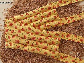 Úžitkový textil - Hrejivý LADVIŇÁK do mikrovlnky z obilia TERMOFOR