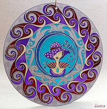 Dekorácie - Mandala ŠKORPIÓN-SCORPIO (Z Kolekcie
