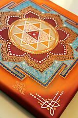 Obrazy - Durga Yantra / Mandala odvahy a víťazstva - 8791834_