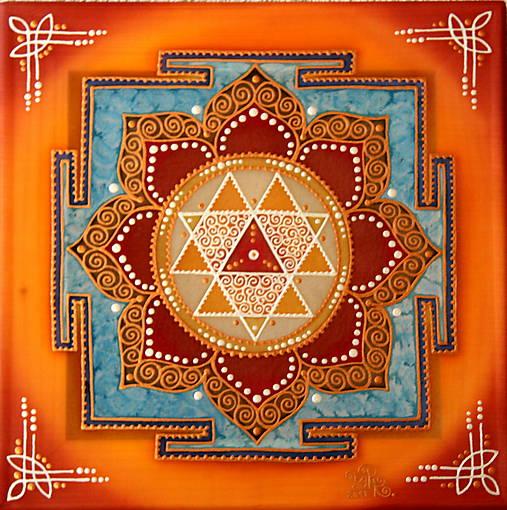 Durga Yantra / Mandala odvahy a víťazstva