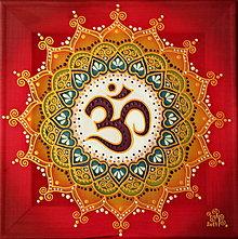 Obrazy - Mandala radostného bytia a úcty k životu - 8791724_