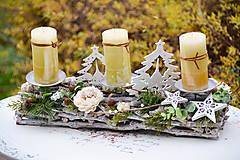 - Vianočný svietnik (so sviečkami) - 8788023_
