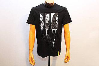Tričká - Maľované tričko Bob Marley - 8793091_