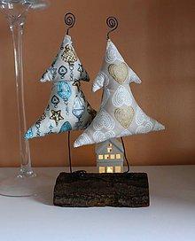 Dekorácie - Vianočné stromčeky - 8791676_