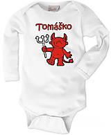 Detské oblečenie - Detské body s menom 6. - 8787994_