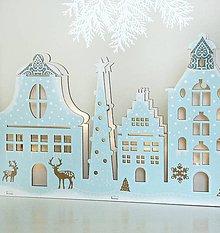Svietidlá a sviečky - Fínska rozprávka LED svietnik  - 8791438_