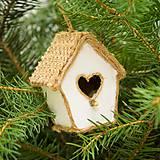 Dekorácie - domček pre vtáčiky sada - 8793026_