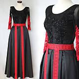 Šaty - Spoločenské šaty v ľudovo-bohémskom štýle - 8791090_