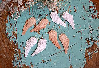 Dekorácie - Anjelské krídla, 8ks - 8790877_