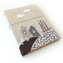 Papiernictvo - Karisblok Dedinka malá béžová - A5 - 8788522_