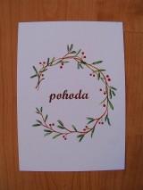 Kresby - Pohľadnice Vianoce - 8791110_