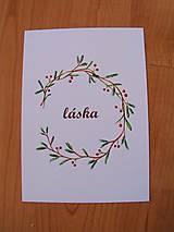 Kresby - Pohľadnice Vianoce - 8791111_