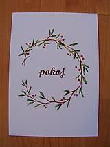 Kresby - Pohľadnice Vianoce - 8791115_