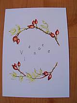 Kresby - Pohľadnice Vianoce - 8791127_