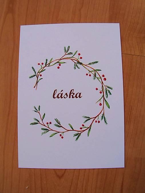 Pohľadnice Vianoce