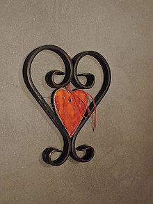 Dekorácie - žiarivé srdce - 8792469_