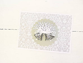 Papiernictvo - vianočná pohľadnica - 8788484_