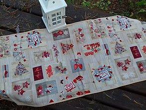 Úžitkový textil - Christmas vanilla love - 8798215_
