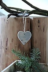Dekorácie - Stredné srdce - 8798664_