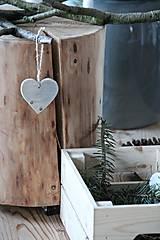 Dekorácie - Stredné srdce - 8798680_