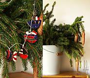 - vianočné ozdoby v námorníckom štýle * sada 12ks - 8796343_