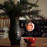 - lolitiHOME * ručne maľované vianočné ozdoby * sada 11ks - 8796380_