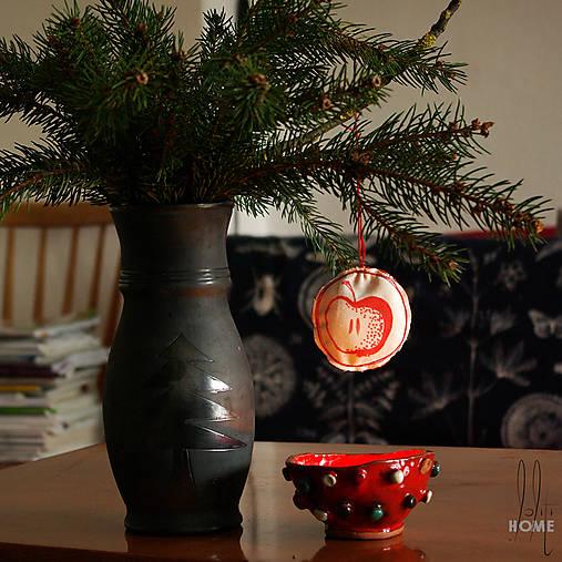 Dekorácie - lolitiHOME * ručne maľované vianočné ozdoby * sada 11ks - 8796380_