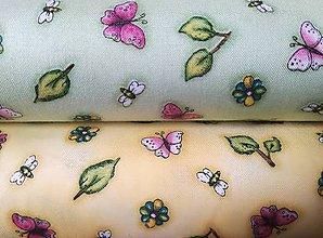 Textil - Gorjuss - Birds of a Feather - Butterfly (Žltá) - 8795584_
