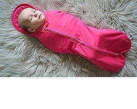 Textil - Moderná perinka MIMI original malinová - 8799101_