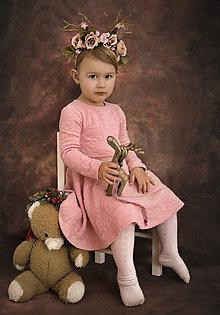 Ozdoby do vlasov - Kvetinová čelenka Sobíček - 8799610_