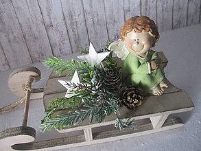 Dekorácie - Vianočná dekorácia - 8795225_