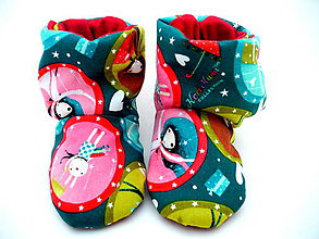 Topánočky - Teplé papučky - 8797202_