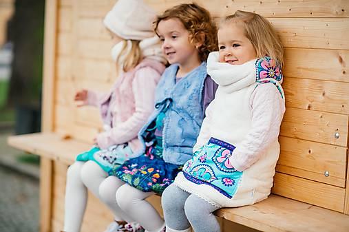 Detské doplnky - Nákrčník pro krček v huňatém teplíčku II - 8796549_