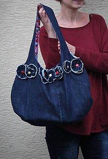 """Veľké tašky - kabela """"rozkvitnutá"""" - 8797573_"""