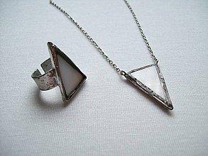 Sady šperkov - Perleťový set - 8796883_